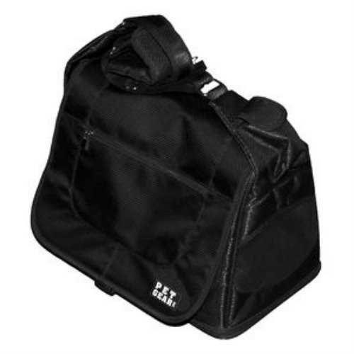 Pet Gear Pet Carrier Messenger Bag Black Diamond