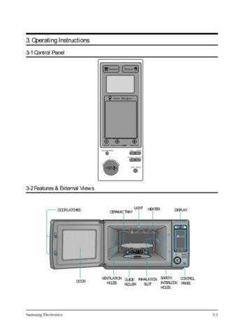 Samsung CE1279KSE BWTSMSC105 Manual by download #163812