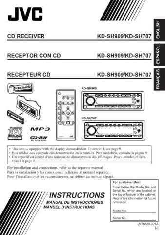 JVC KD-SH909 Service Schematics by download #156196