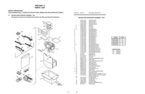 JVC GR-DVL720U part CDC-1441 by download #155693