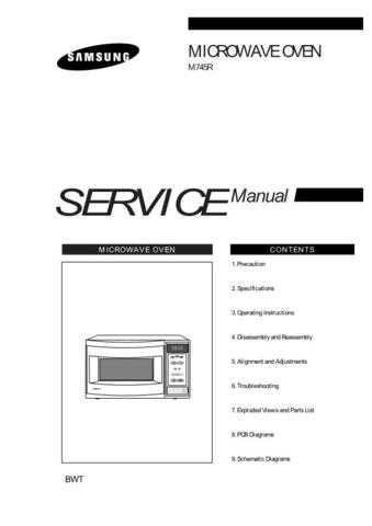Samsung M745R SBTW SMSC101 Manual by download #164373