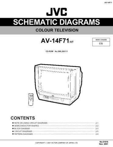 JVC 51918SCH Service Schematics by download #121998