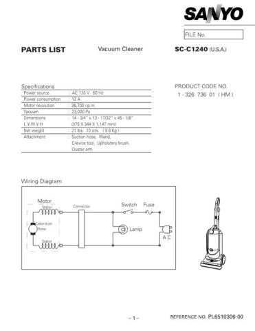 Sanyo SCP7300(OM) Manual by download #175312