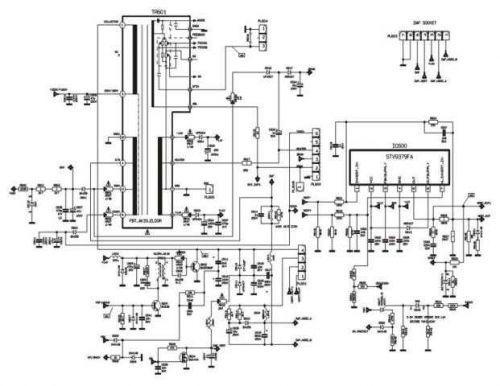 Funai AK33-2 DEFLECTION Service Schematics by download #161343