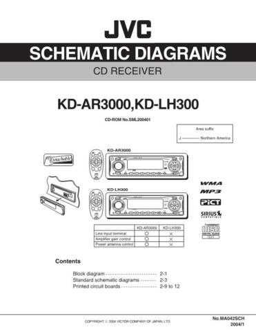 JVC KD-LH300sch Service Schematics by download #156102