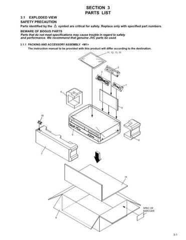 JVC HR-XVC25US part Service Schematics by download #155965