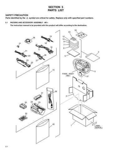 JVC 86687PAR Service Schematics by download #123110