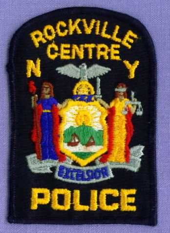 ROCKVILLE CENTRE (~Old) NEW YORK Police Patch NY SEAL