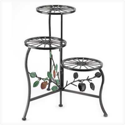 NEW! COUNTRY APPLE PLANT STAND