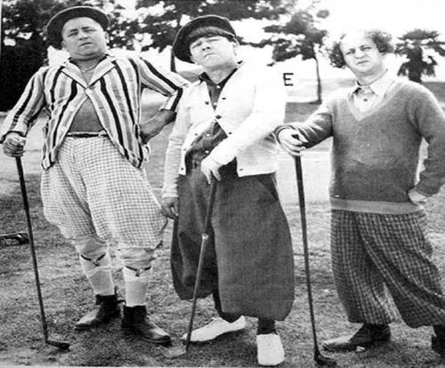 Three Stooges Golf Mousepad