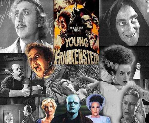 Young Frankenstein Mousepad