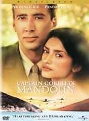 Captain Corelli's Mandolin (DVD, 2002)