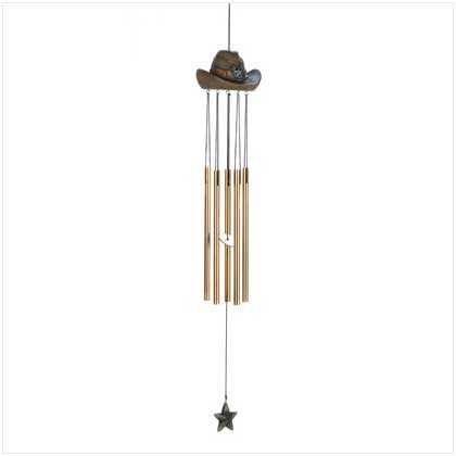 Cowboy Hat Windchime