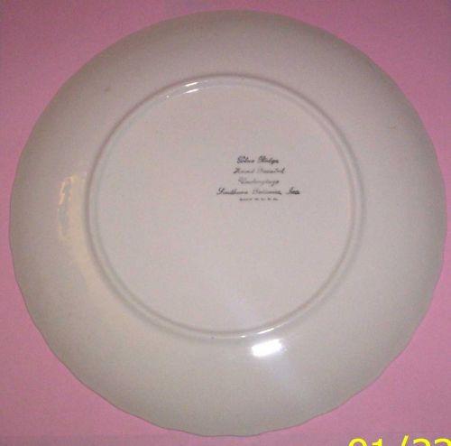 Blue Ridge Southern Pottery- Chrysanthemum Dinner Plate
