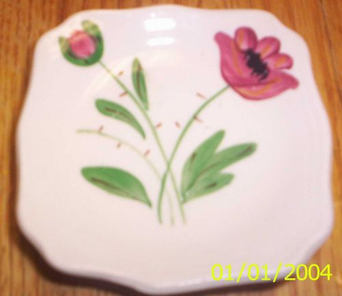 Blue Ridge Southern Pottery-Wild Irish Rose Ashtray