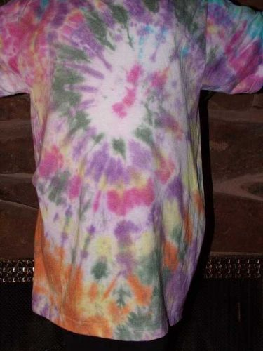 One of a kind Spiral Tie Dye T