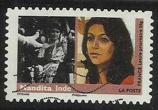 FRANCE 2009 - FAMOUS WOMEN, NANDITA INDIAN ACTRESS