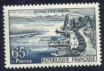 FRANCE 856 - View of Evian-les-Bains (pa7534)