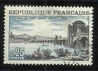 France 1966 SG#1716 Pont St. Esprit