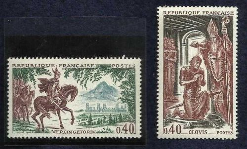 France 1966 Horses/History FRANCE 1966 BISHOP REMI BAPTIZING KING SC 1167