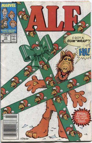 Alf Marvel Comic Book # 13 March 1989 Season's Greetings