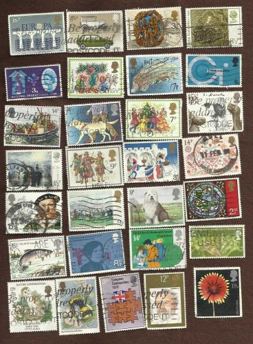British LOT 1 Collection of 29 Stamps