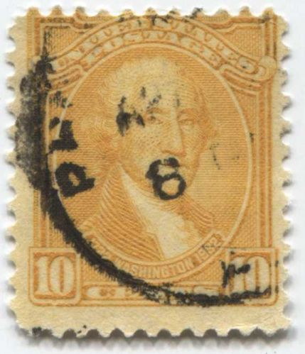 1932 10 Cent George Washington Last of Bicentennial Issue Stamps Good Used