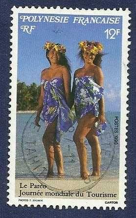 FRENCH POLYNESIA 1990 - TOURISM 12 - 1