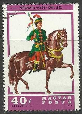 Hungary 1978 Horses (Cancelled)
