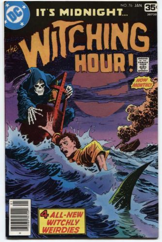 The Witching Hour DC Comics Vol. 1 #76 Jan. 1978 Great Old Classic Comic