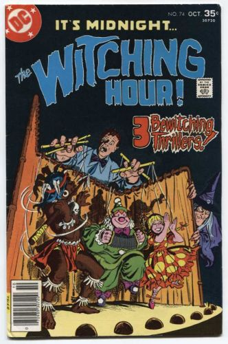 The Witching Hour DC Comics Vol. 1 #74 Oct. 1977 Great Old Classic Comic