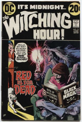 The Witching Hour DC Comics Vol. 1 #31 June 1973 Good used Classic Comic