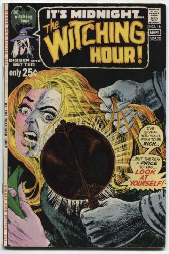 Thr Witching Hour Issue #16 Sept. 1971 Very Good Condition DC Classic Early