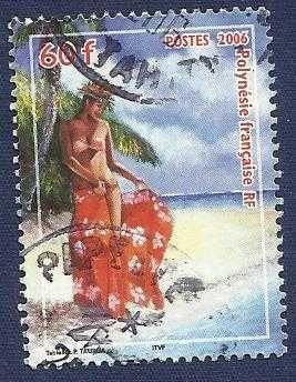 FRANCE FRENCH POLYNESIA 2006 60f - TOURISM 1