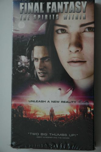 Final Fantasy: The Spirits Within (VHS, 2001)