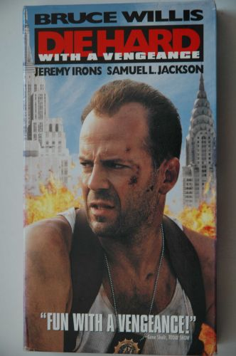 Die hard With a Vengeance (VHS, 1995)