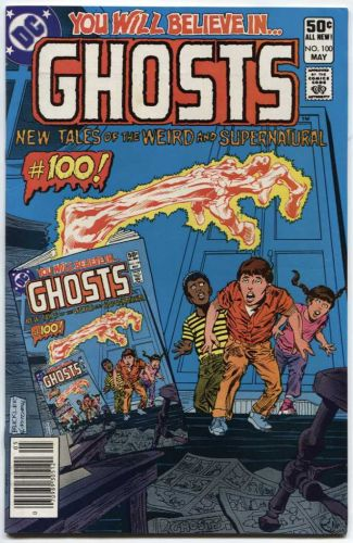 Ghosts Issue #100 May, 1981 50c DC Comic Book Great Condition Used Classic