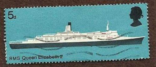 Great Britain Queen Elizabeth II Ship