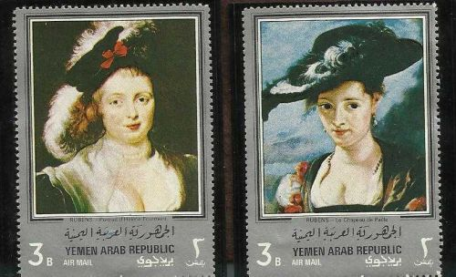 Yemen Arts Famous Painting of Gauguin and Rubens 1967 - Beautiful Stamps
