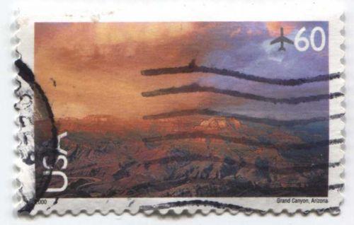 Set of 6 Good Used Modern Air Mail 1999-2001 40c, 50c, 60c, 70c, 80c