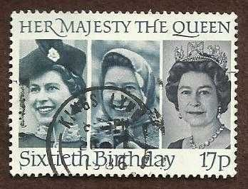 The Sixtieth Birthday of Her Majesty The Queen - 1986 - Single