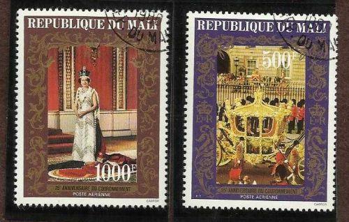 Mali 1978 Queen Elizabeth Coronation
