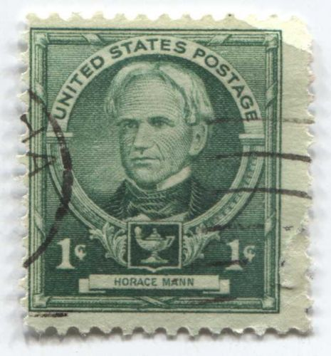 1940 1c Horace Mann American Educator Mint Used Unhinged Clean