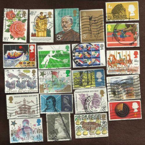 British 21 Stamp Set