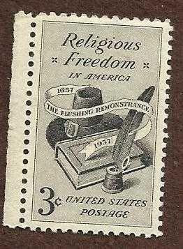 Stamps U.S. Religious Freedom In America Scott 1099