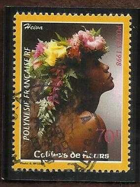 France French Polynesia Colliers de Fleurs 1998