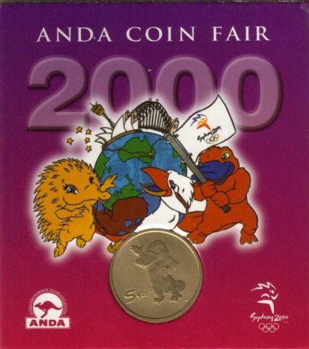 SYDNEY OLYMPICS 2000 ANDA Coin Fair Medal