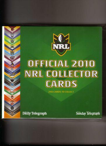 Australian 2010 NRL Collector Cards FULL SET of 240