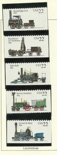 Locomotives- 1987 Commemoratives