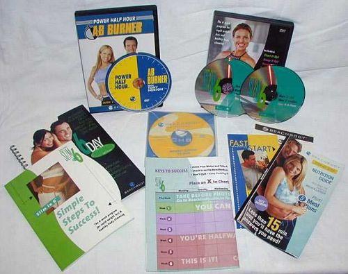Beachbody Debbie Siebers Slim in 6 - 2 DVD Set! Start it Up,Ramp,Burn,Slim,Six